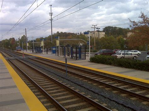 Mta Maryland Light Rail by Linthicum Station