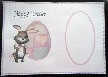 printable easter card inserts easter bunny insert cup38216 376 craftsuprint