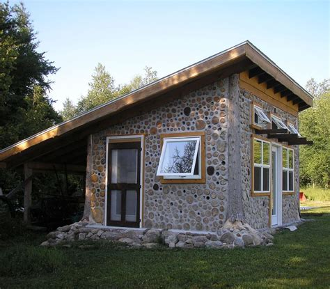 shed roof home plans august 2012 cordwood construction