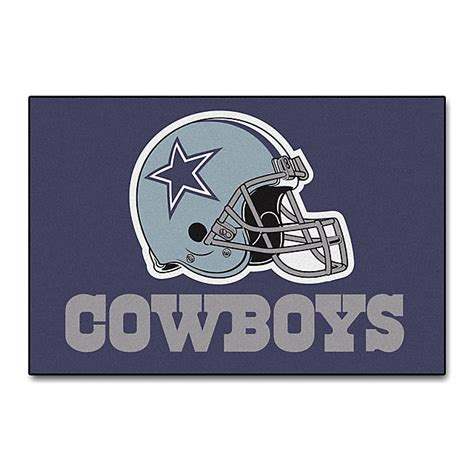 dallas cowboys starter mat home decor home office