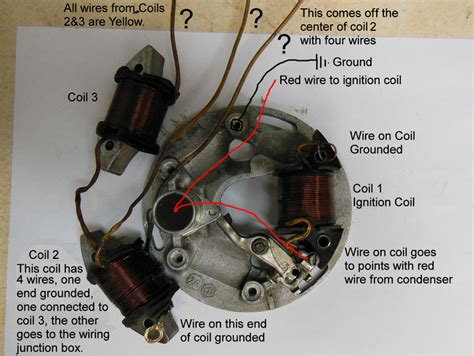 scooter stator wiring diagram motorcycle