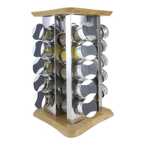 Bamboo Spice Rack 20 Jar Bamboo Spice Rack
