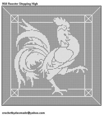 Filet Crochet Patterns For Home Decor Crochetbydasmade On Artfire