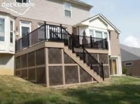 azek deck w skirting home ideas pinterest decks under deck storage and deck storage
