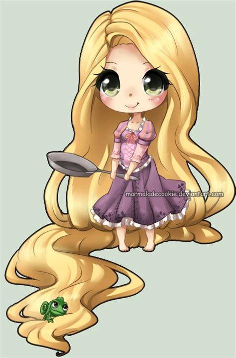 imagenes de rapunzel kawaii pin by lea hor on walter disney pinterest