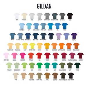 gildan shirt color chart why get gildan shirts for printed tees in the philippines