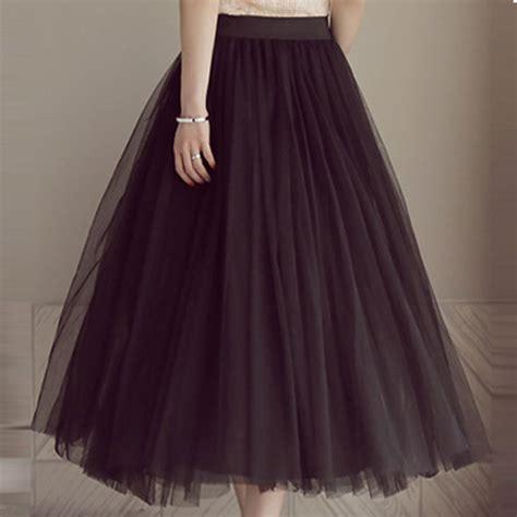 tulle maxi skirt white gray black tutu skirt three