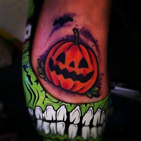 jack o lantern tattoo designs o lantern tattoos