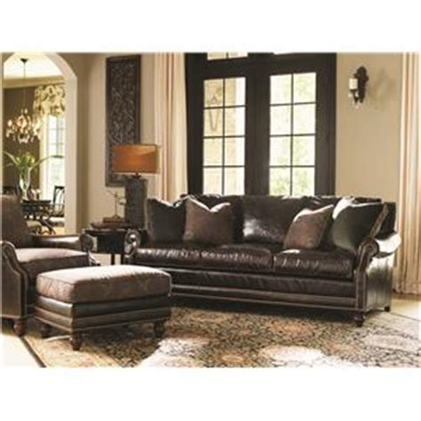 tommy bahama home living room southport sofa 7719 33 tommy bahama home landara sea horse l table with glass