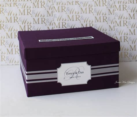 card box wedding card box money box card holder custom made to