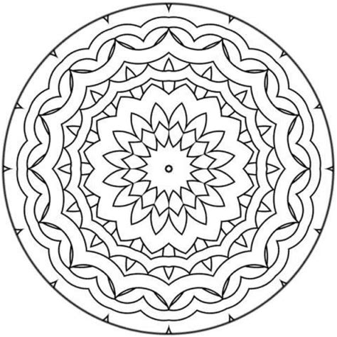 beginner coloring pages free printable mandalas for beginners mandala 17 az coloring pages