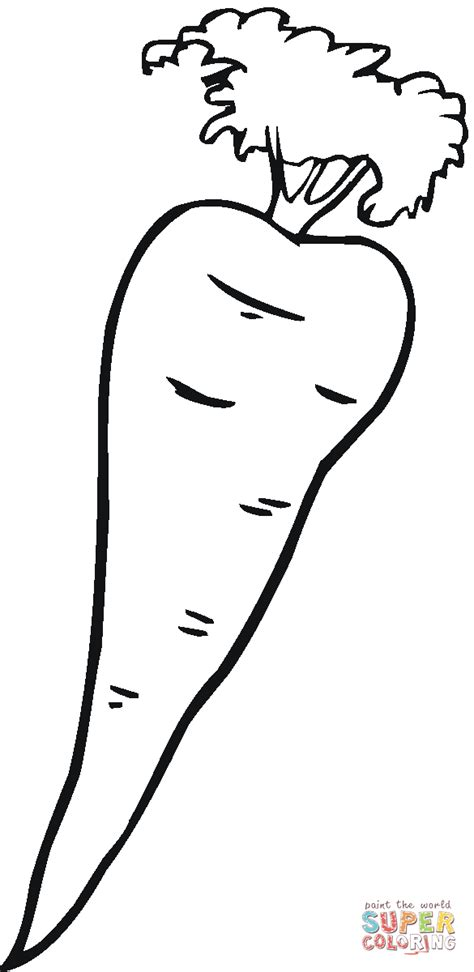 carrot 10 coloring page free printable coloring pages