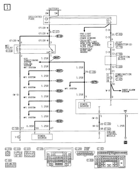 Mitsubishi Eclipse Stereo Wiring Diagram Wiring Diagram For 2003 Mitsubishi Eclipse Wiring Get