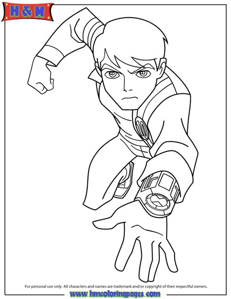 ben ten coloring pages free ben mummy coloring pages