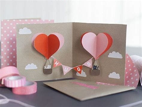 Rugged Pop Up Cers by 18 3d Diy Valentine S Day Cards That Will Make Cupid