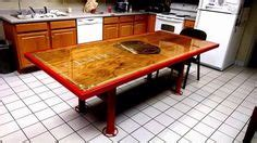 custom firehouse kitchen table fairfield township ohio