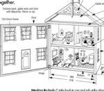 doll house blueprints woodwork free dollhouse blueprints pdf plans