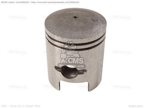 Piston Cld 55 12103 35810 100 piston rv50 1981 x e01 1211035000100