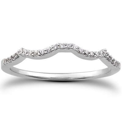 Wedding Rings Infinity Band by Infinity Wedding Band Matching Band For An Infinity