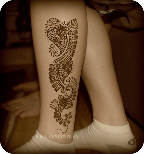 real tattoos that look like henna leg that looks like wood 25 excellent henna