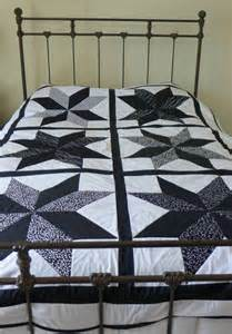 Black And White Quilts And Coverlets Modern Black And White Coverlet Quilt