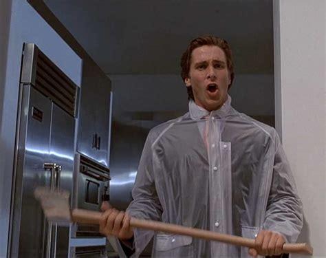 Christian Bale Axe Meme - american psycho axe goo reviews