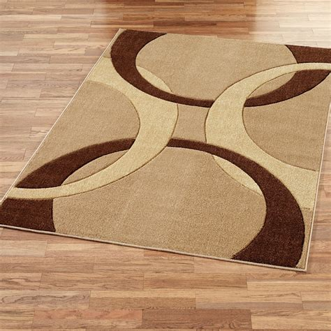 corfu contemporary brown area rugs