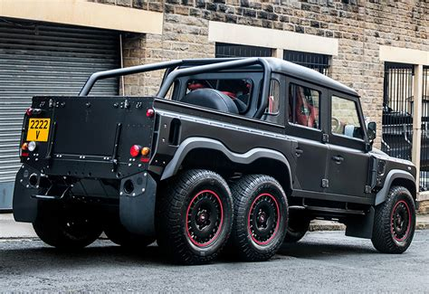 land rover defender 2016 khan 2016 kahn design flying huntsman 110 6x6 defender