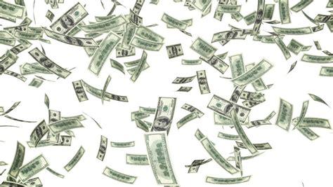 money shower stock footage
