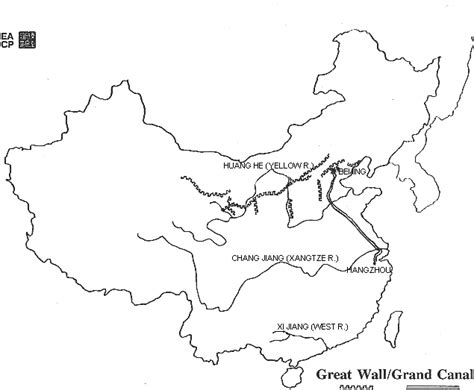 Great Wall Of China Map Outline by East Asia S Geography Through The 5 Themes 6 Essential Elements And 18 Geographic Standards