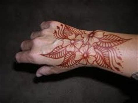 permanent henna tattoo henna colored permanent makedes