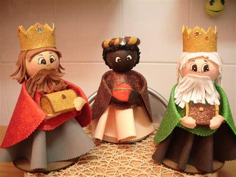 patrones de reyes magos para hacer en foami fofuchos reyes magos patrones gratis