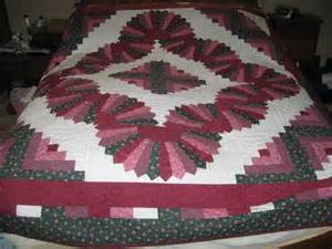 you to see log cabin and fans quilt on craftsy