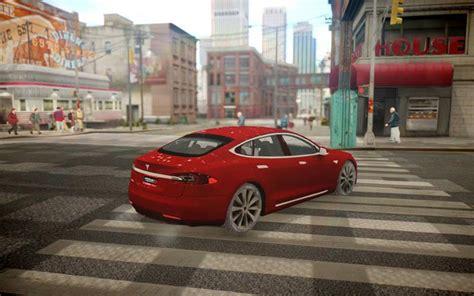 Tesla Model S Mods Gta 4 Tesla Model S Dtd Mod Gtainside