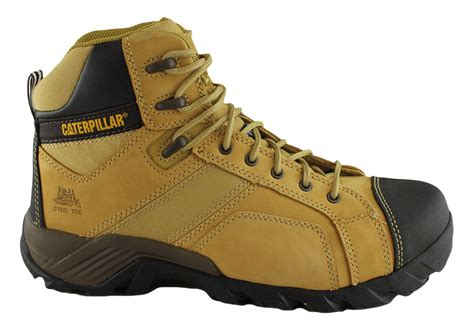 Caterpillar Low Boot caterpillar cat argon hi side zip mens steel toe work