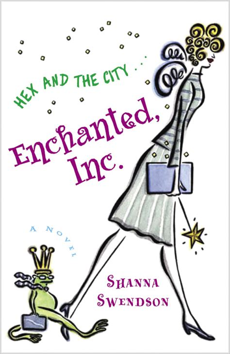 Book Review Enchanted Inc By Shanna Swendson by Enchanted Inc Shanna Swendson