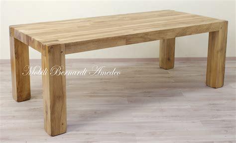 tavoli in legno massello moderni tavolo moderno in noce massello tavoli