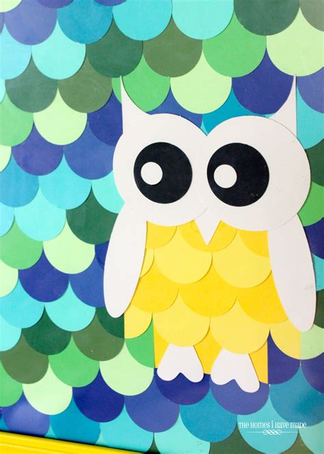Owl Paint Chip Boy Room Project The Homes I