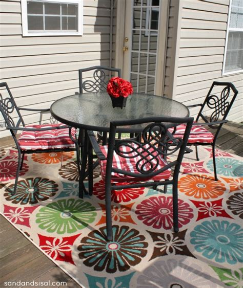 outdoor rugs for balcony create an outdoor room sand and sisal