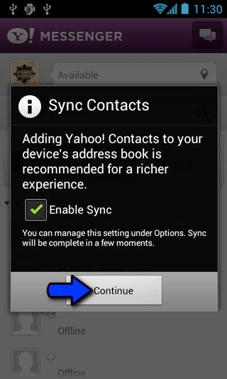yahoo instant messenger for android utilizare yahoo messenger pentru android