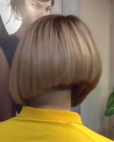 haircut bob undershave 17 best images about napes to die for on pinterest