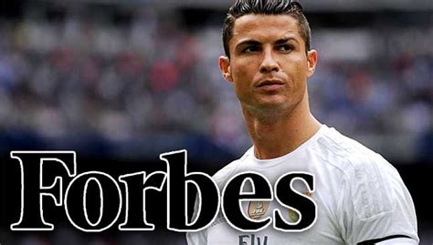 ronaldo stays atop forbes list of richest athletes free malaysia today