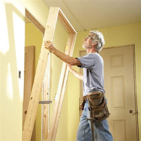 tips  hanging doors   veteran carpenter family