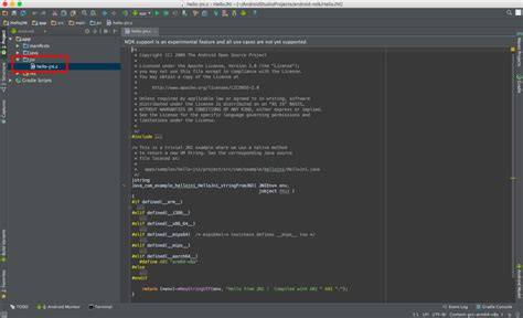 tutorial ndk android studio tutorial ndk android eclipse