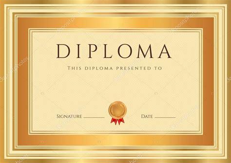diploma diploma certificate template