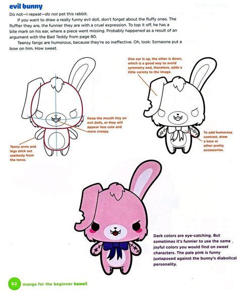christopher hart for the beginner for the beginner kawaii evil bunny by christopher