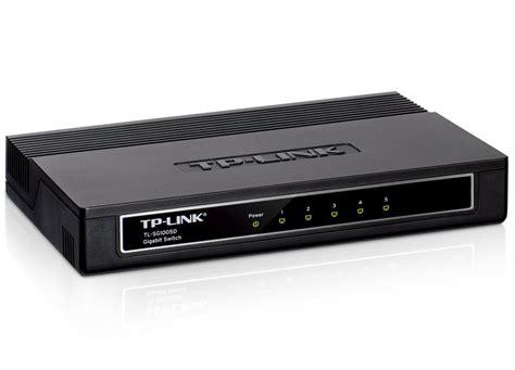 tp link tl sg1005d switch 5 puertos gigabit reacondicionado hub switch