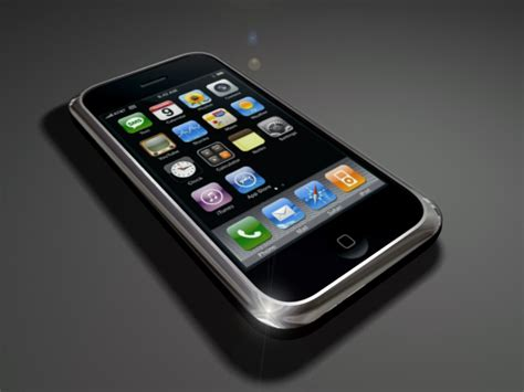 original iphone 3ds max by 5h4dow on deviantart