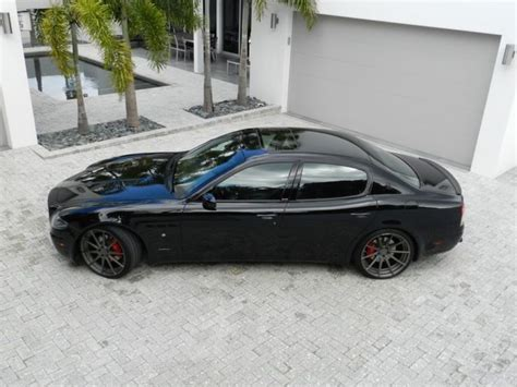 maserati 4 door sports car 2007 maserati quattroporte sport gt sedan 4 door cars