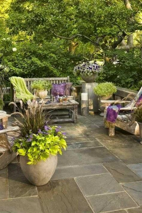 Pretty Backyard Ideas by Beautiful Backyard Patios Marceladick